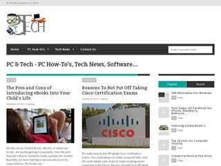 PC & Tech PC How-To s Tech News,  Software.