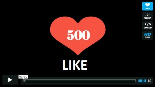 add you 100+ GUARANTEED Real Vimeo likes, ratings, thumbs up within 24hour