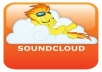 give you Real 500+ Soundcloud Followers on you account
