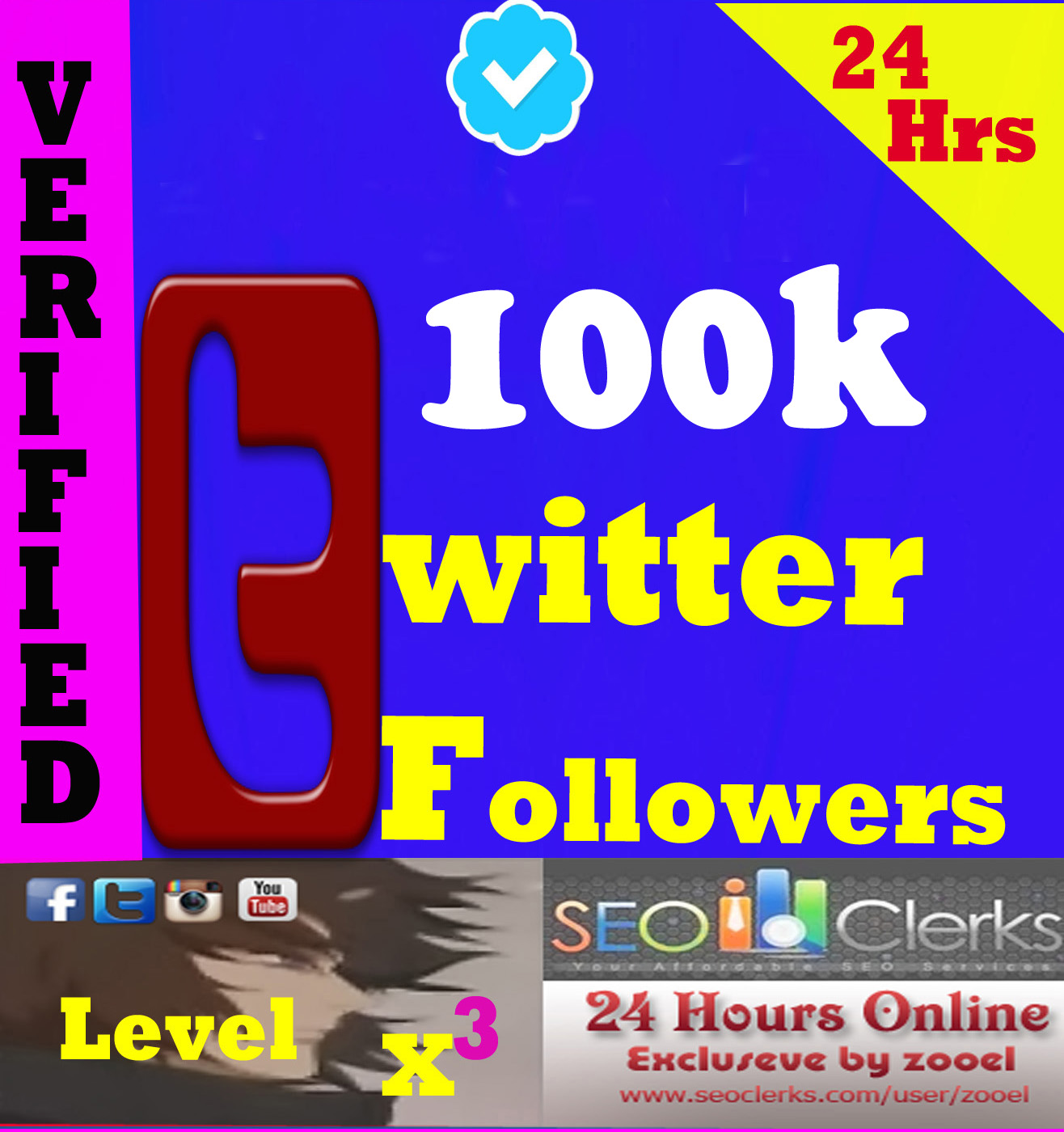 Cheapest and Fast delivery 100k+ T*witter followers Without Admin Access