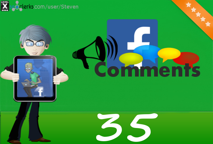 Add 35 Custom Facebook Comments to your post, photo, status or video