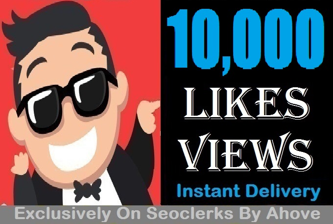 Start Insatnt 10000 Views Or Likes In Social Media Posts