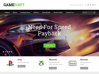 Gameshift. net - games,  technology reviews.