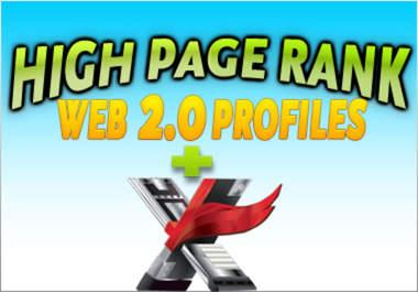 2 layer pyramid with 220 high pr web profiles and 5000 xrumer profile backlinks on the second layer
