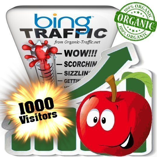 Organic traffic through Bing by Keywords to your webs...