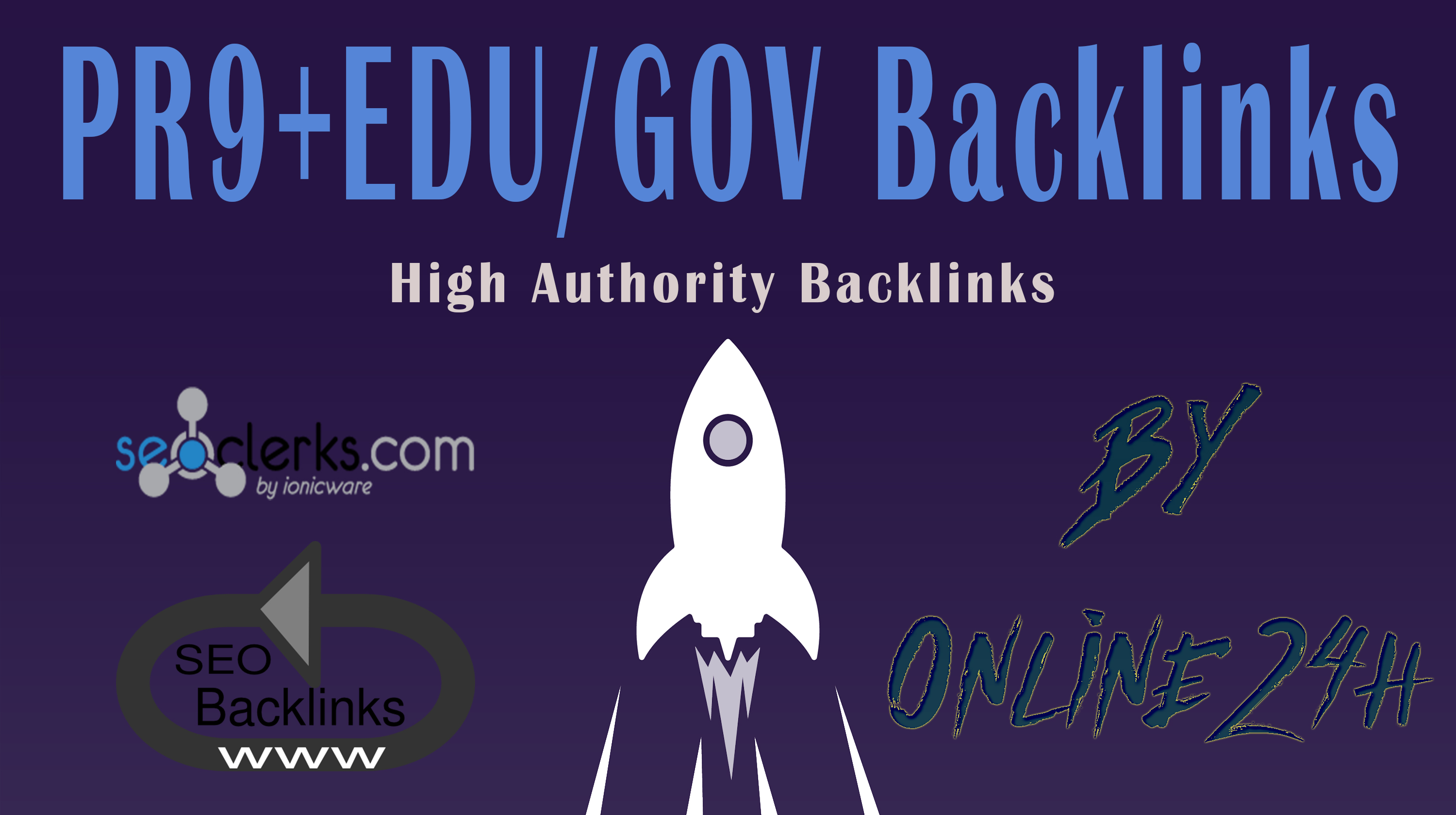 40+ PR9 + 20+ .EDU/.GOV Backlinks From Authority Domains only