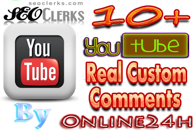 Increase Your Popularity By 10 Real Youtube comments fast only