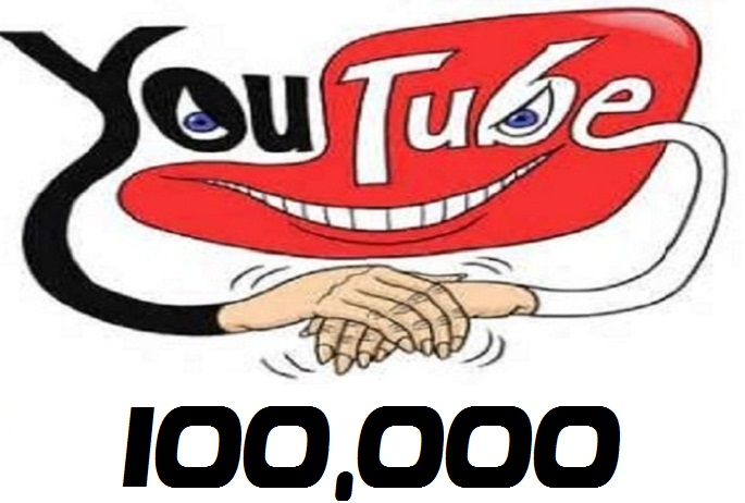 give splittable 100,000 YouTube views