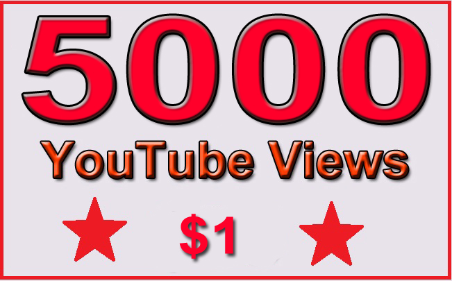 5000 Non Drop YouTube Views