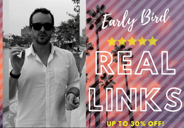 EARLY BIRD ACCESS! Powerful Links On Exclusive Access Niche Domains {private}