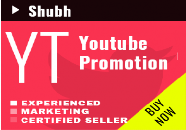 Run Youtube Promotion via Google Ads or Social Network