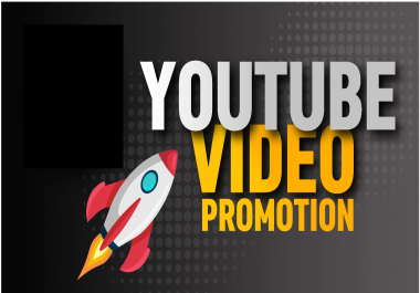 High-quality YOUTUBE Video Promotion