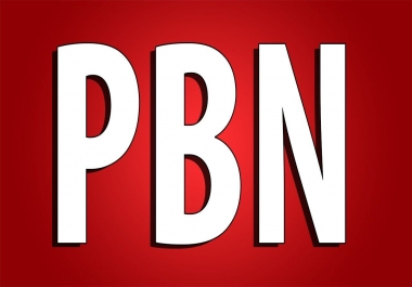50 PBN of Highest Quality & Most Effective Links