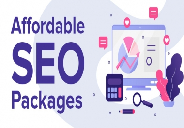 Affordable SEO Package - Cheap SEO Package - Monthly SEO Package