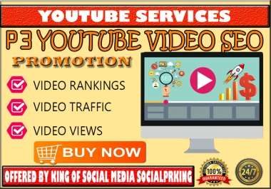 Package 3 Youtube Video SEO Promotion