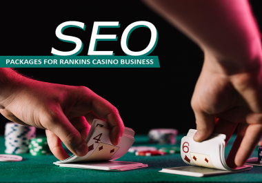 Biggest High Quality SEO All Packages Casino Gambling Site Page 1 Of Google Rankings Monthly Service