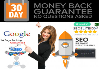 Skyrocket Will Boost Your Website Ranking 1st Page On Google Guaranteed