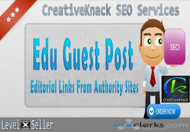 Edu Guest Post Editorial Links From High Level Authority Websites