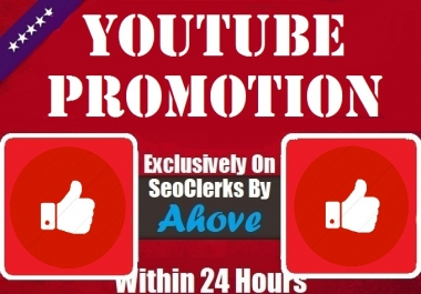 Get Instant YouTube Video Promotion Thumps Up