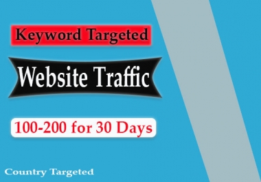 send keyword targeted SEO search engine traffic
