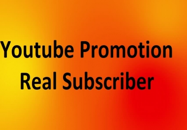 Youtube Promotion Package - 75+ Real Package