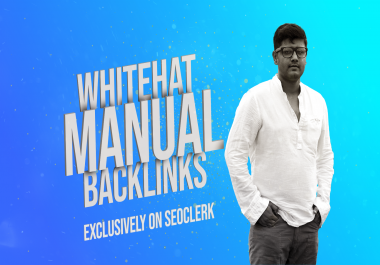 50 Manual Whitehat Authority Backlinks For Google Ranking