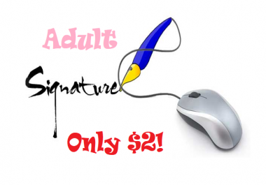 Adult Forum Signature Link For 1 Month