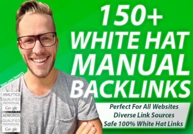 50 Edu 100 Wiki 100 Social Networks 50 Web Profile 100 Artice Backlinks - Manual Work
