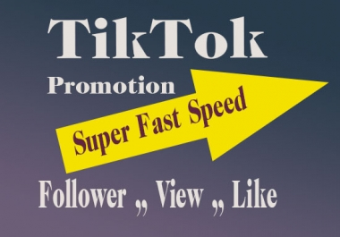 Best Quality TikTok Video Promotion and Marketing