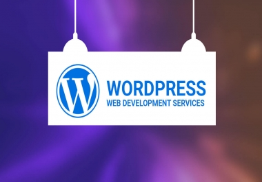 Professional WordPress Website Development And Design