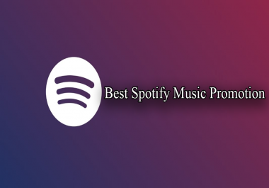 Good Quality Spootify Music Promotion