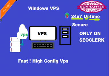 Provide Windows RDP VPS 1 GB RAM