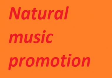 Real Manual natural Music Promotion