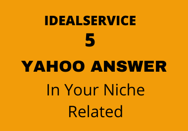 Boost your website targeted traffic in 5 yahoo answers