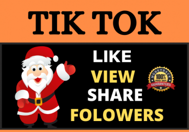 High Quality TikTok Video and Account Promotion Package Fast Delivery