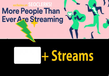 Streams For your Track streams promotion