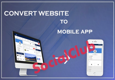 Convert Website, Blog, E-commerce Site, YouTube Chanel, Facebook Page To Android App