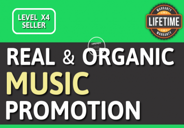 Playlist OR Artist Profile Followers Promotion Cheapest HQ With Lifetime Guarantee