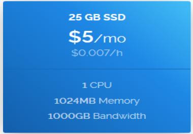 vps windows 1 core 1 GB ram 1000 GB