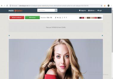 Frree Earn Money Online PHP Wallpaper Website Script