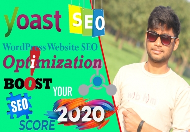 I will do Wordpress on page SEO Optimization for Yoast