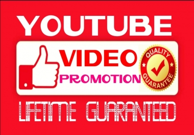 Add Super Fast,HQ,Non Drop video Promotion