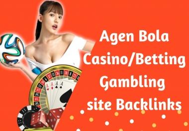 Powerful Agen Bola/Casino/Betting/Gambling SEO Linkbuilding Strategy 2020 for Google Ranking