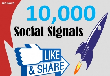 Add facebook 10,000+ SEO Social Signals Backlink/Bookmark/Important Site Google ranking