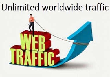 Unlimited worldwide 10,000+ website traffic from Youtube, Facebook, Instagram, Twitter, Google, pint