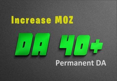 Increase Moz DA0 to DA40 of your any website | spam free method & Google update safe