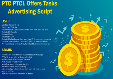 LaraPro : PTC # PTCL # Offers # Tasks # Advertising Features