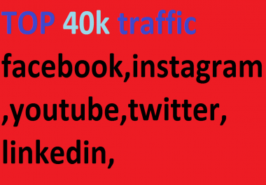 40k,boost website keyword real organic targeted web traffic ,facebook,instagram,youtube,twitter