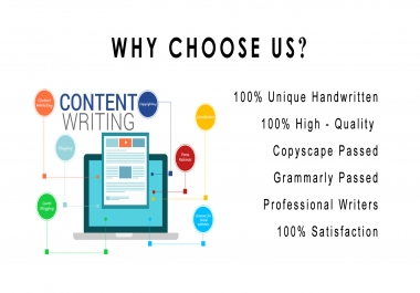 SEO Optimized HQ Content - 500 words - LOWEST RATE