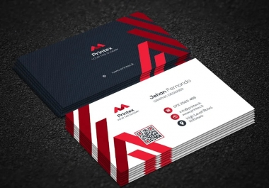 Design a professional and high quality print ready business card